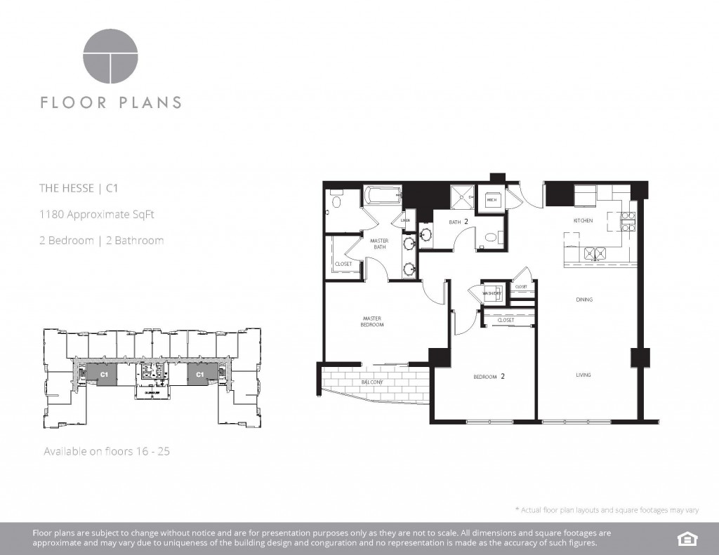 Las Vegas Residences Open Concept Floor Plans The Ogden - Las vegas floor plans