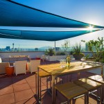 The Sky Deck on the rooftop of The Ogden, available to residents
