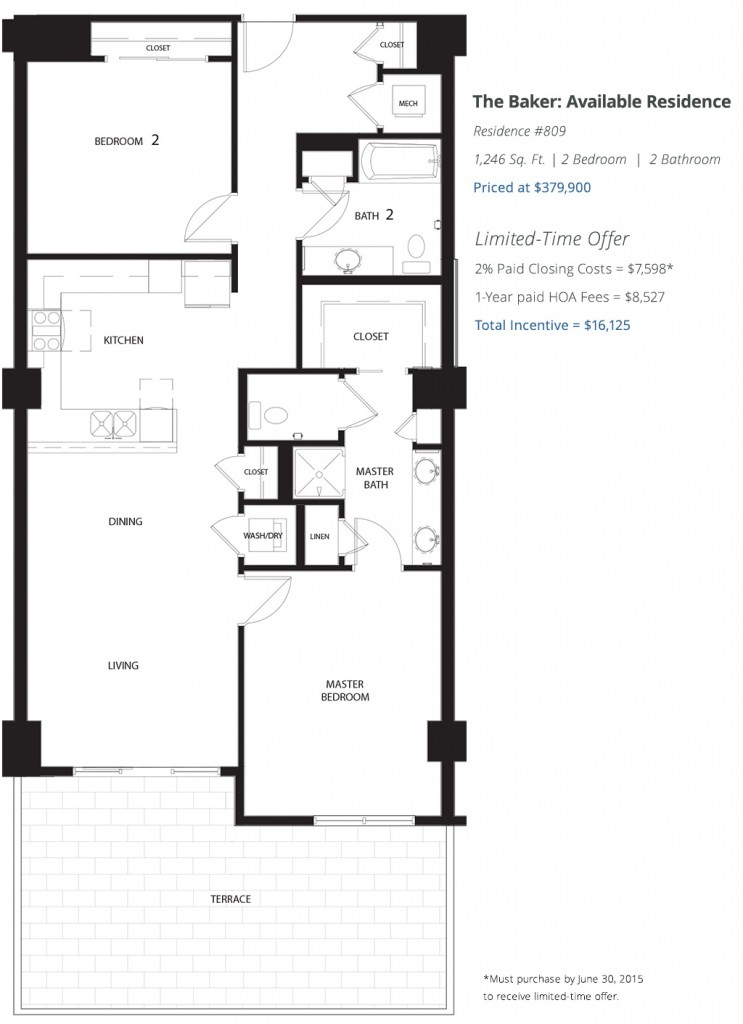 The Baker Floorplan