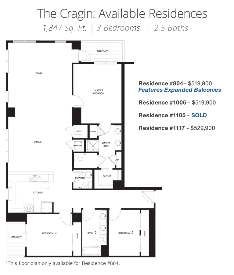 The Cragin Floor Plan - The Ogden