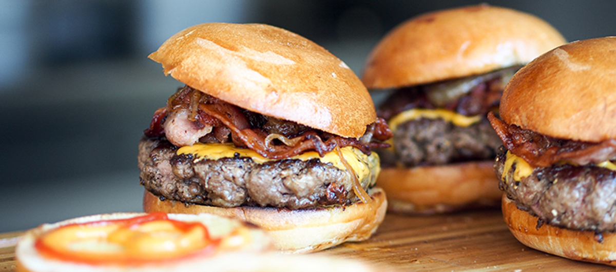 Burgers to enjoy during March Madness.