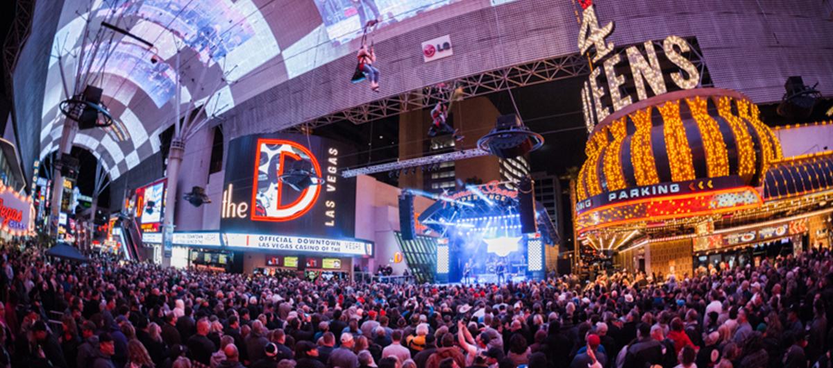 Las Vegas Fremont Street Experience Concert