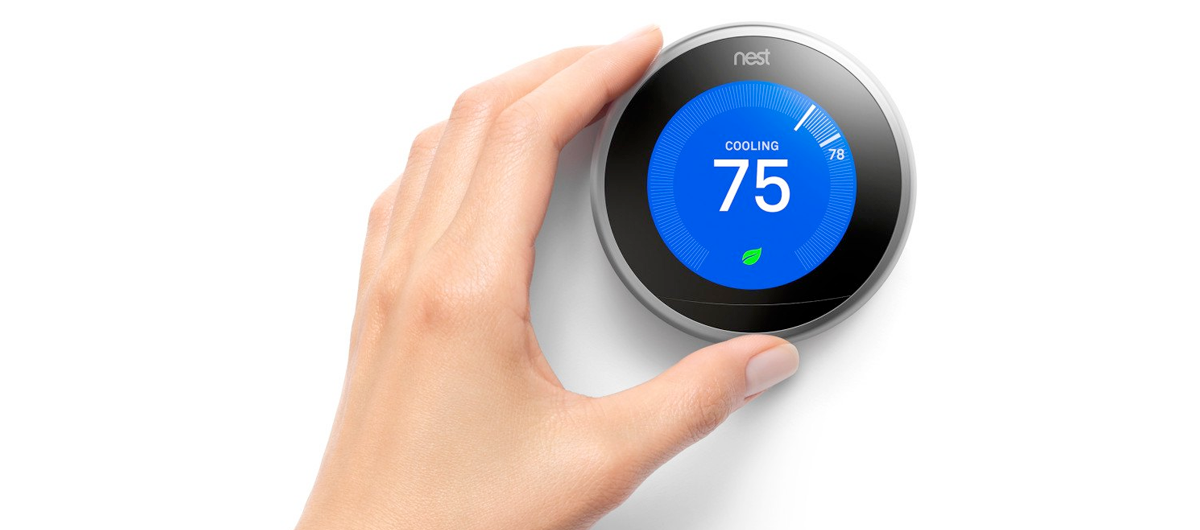 Nest Learning Thermostat simplifies your HVAC system.