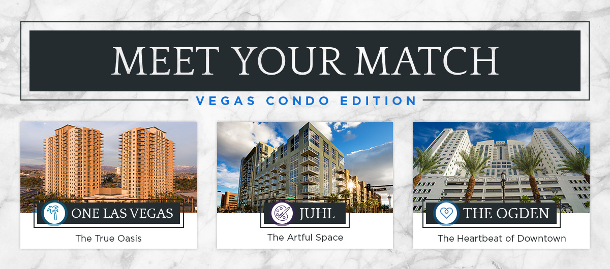 Meet Your Match: condo options